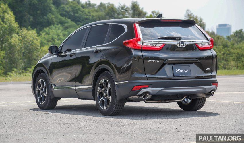 五代 Honda CR-V 本地正式发布,分成4个等级、自然进气与涡轮引擎,统一五人座,售价介于RM142K至RM168K。 Image #34926