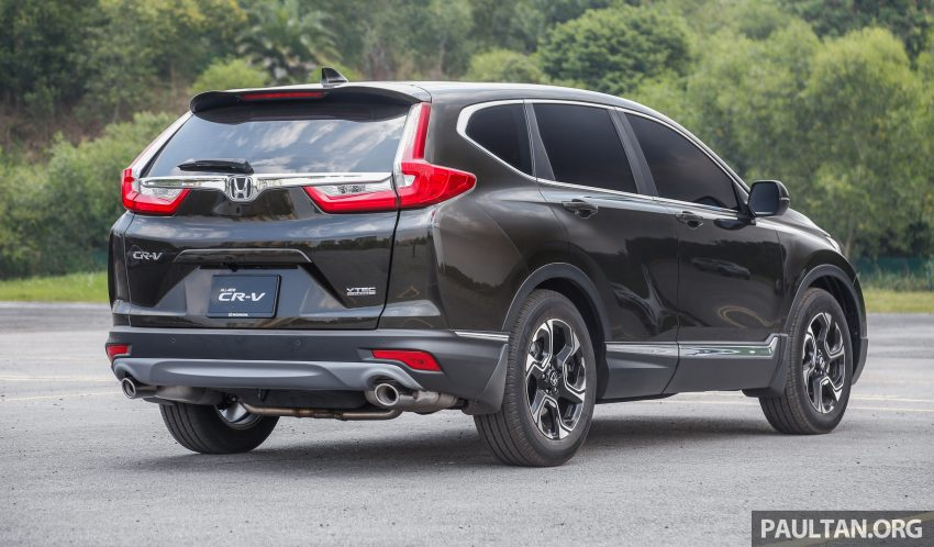 五代 Honda CR-V 本地正式发布,分成4个等级、自然进气与涡轮引擎,统一五人座,售价介于RM142K至RM168K。 Image #34928