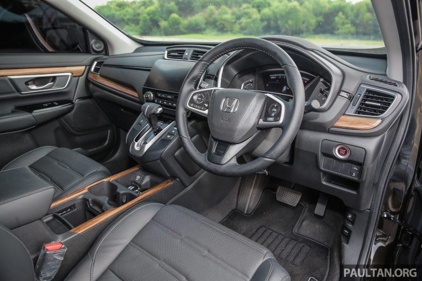 五代 Honda CR-V 本地正式发布,分成4个等级、自然进气与涡轮引擎,统一五人座,售价介于RM142K至RM168K。 Image #34956