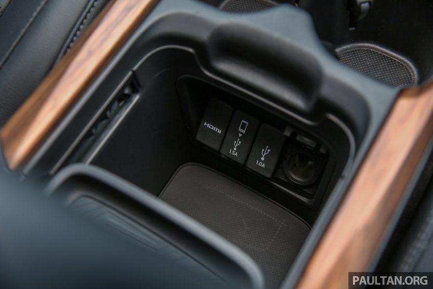 五代 Honda CR-V 本地正式发布,分成4个等级、自然进气与涡轮引擎,统一五人座,售价介于RM142K至RM168K。 Image #34967