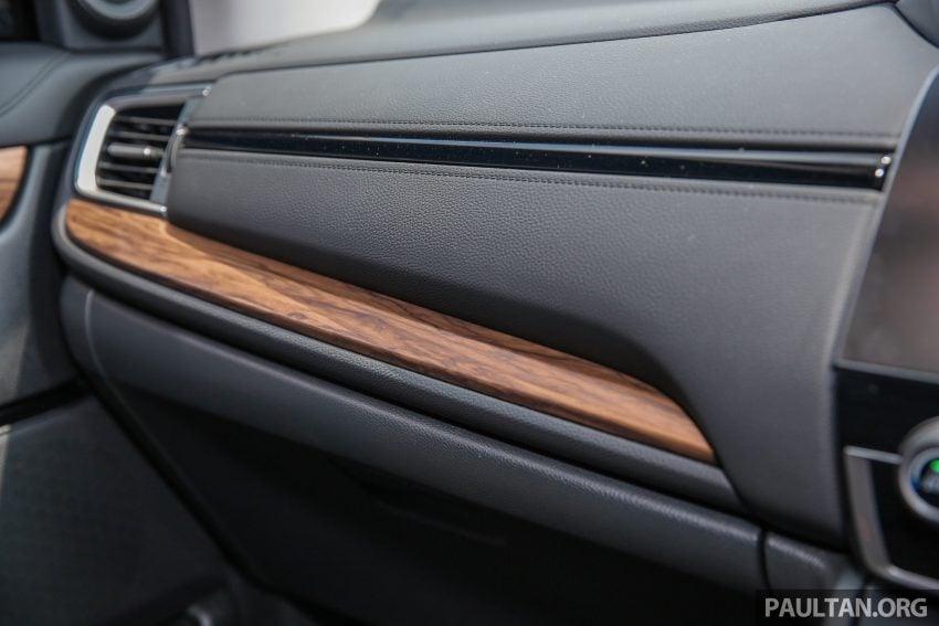 五代 Honda CR-V 本地正式发布,分成4个等级、自然进气与涡轮引擎,统一五人座,售价介于RM142K至RM168K。 Image #34969