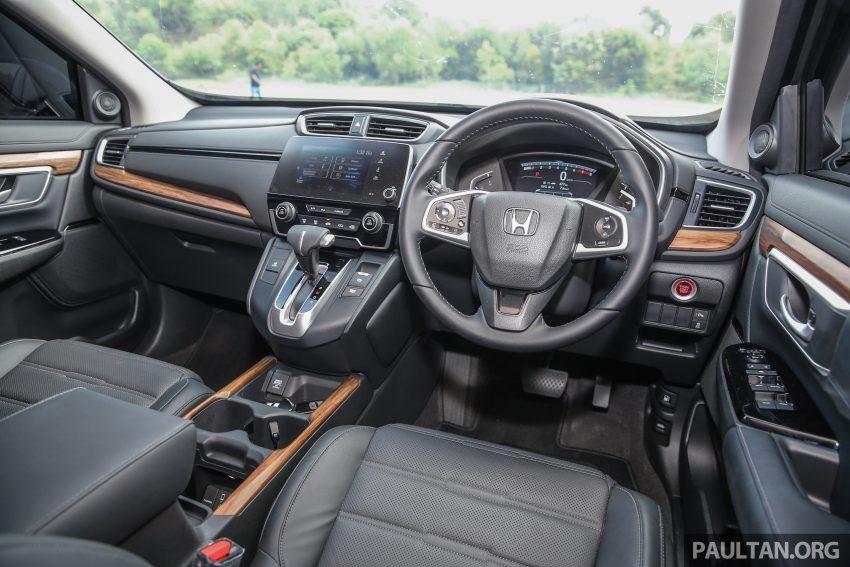 五代 Honda CR-V 本地正式发布,分成4个等级、自然进气与涡轮引擎,统一五人座,售价介于RM142K至RM168K。 Image #34971