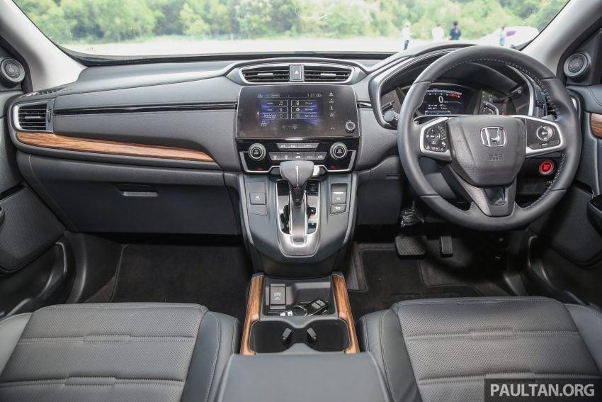 五代 Honda CR-V 本地正式发布,分成4个等级、自然进气与涡轮引擎,统一五人座,售价介于RM142K至RM168K。 Image #34957
