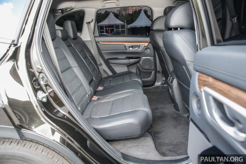 五代 Honda CR-V 本地正式发布,分成4个等级、自然进气与涡轮引擎,统一五人座,售价介于RM142K至RM168K。 Image #34978