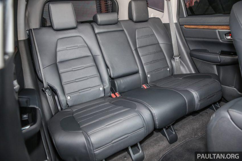 五代 Honda CR-V 本地正式发布,分成4个等级、自然进气与涡轮引擎,统一五人座,售价介于RM142K至RM168K。 Image #34979