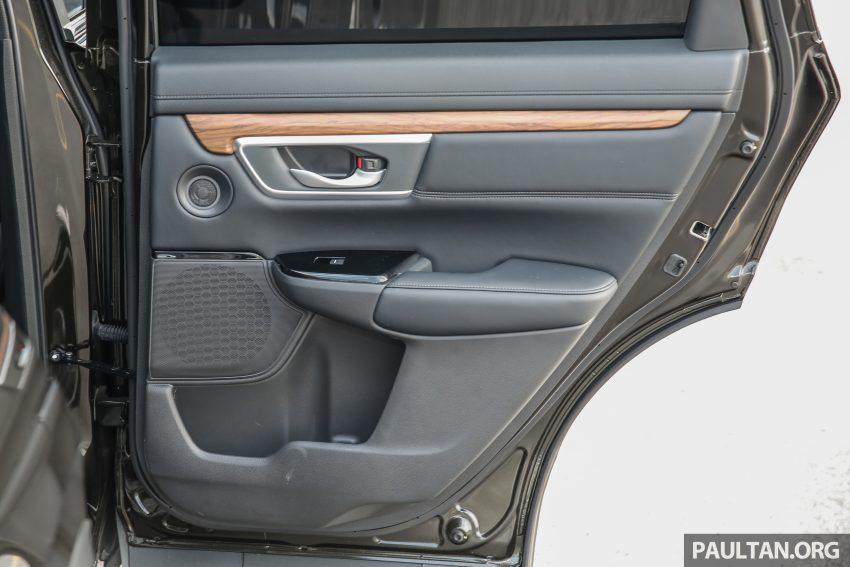 五代 Honda CR-V 本地正式发布,分成4个等级、自然进气与涡轮引擎,统一五人座,售价介于RM142K至RM168K。 Image #34981