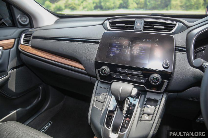 五代 Honda CR-V 本地正式发布,分成4个等级、自然进气与涡轮引擎,统一五人座,售价介于RM142K至RM168K。 Image #34960