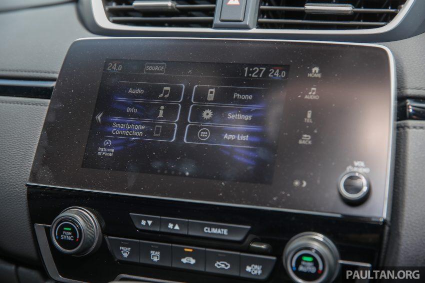 五代 Honda CR-V 本地正式发布,分成4个等级、自然进气与涡轮引擎,统一五人座,售价介于RM142K至RM168K。 Image #34961