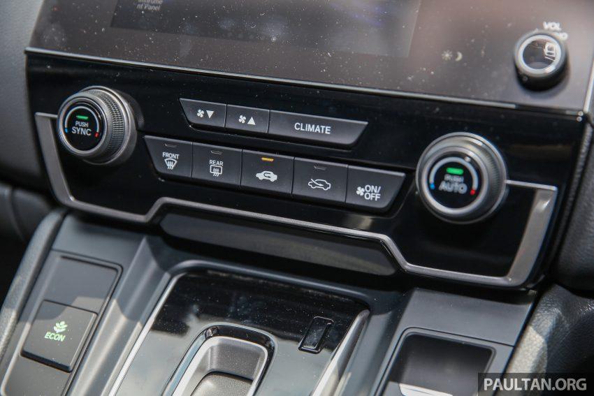 五代 Honda CR-V 本地正式发布,分成4个等级、自然进气与涡轮引擎,统一五人座,售价介于RM142K至RM168K。 Image #34962