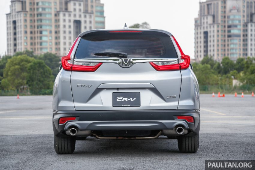 五代 Honda CR-V 本地正式发布,分成4个等级、自然进气与涡轮引擎,统一五人座,售价介于RM142K至RM168K。 Image #34870