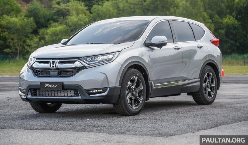 五代 Honda CR-V 本地正式发布,分成4个等级、自然进气与涡轮引擎,统一五人座,售价介于RM142K至RM168K。 Image #34862