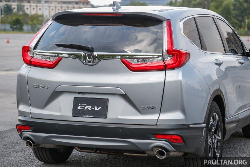 五代 Honda CR-V 本地正式发布,分成4个等级、自然进气与涡轮引擎,统一五人座,售价介于RM142K至RM168K。 Image #34880