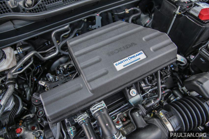 五代 Honda CR-V 本地正式发布,分成4个等级、自然进气与涡轮引擎,统一五人座,售价介于RM142K至RM168K。 Image #34885