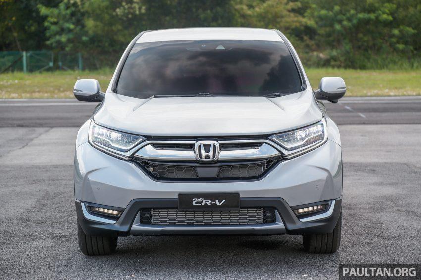 五代 Honda CR-V 本地正式发布,分成4个等级、自然进气与涡轮引擎,统一五人座,售价介于RM142K至RM168K。 Image #34867
