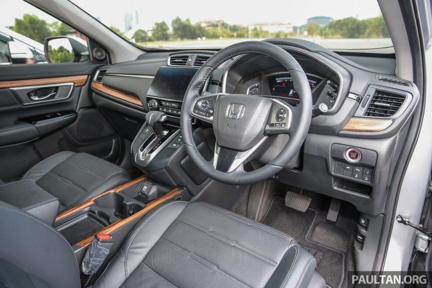 五代 Honda CR-V 本地正式发布,分成4个等级、自然进气与涡轮引擎,统一五人座,售价介于RM142K至RM168K。 Image #34886