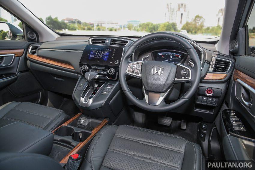 五代 Honda CR-V 本地正式发布,分成4个等级、自然进气与涡轮引擎,统一五人座,售价介于RM142K至RM168K。 Image #34905