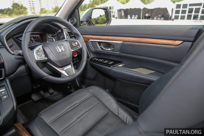 五代 Honda CR-V 本地正式发布,分成4个等级、自然进气与涡轮引擎,统一五人座,售价介于RM142K至RM168K。 Image #34906