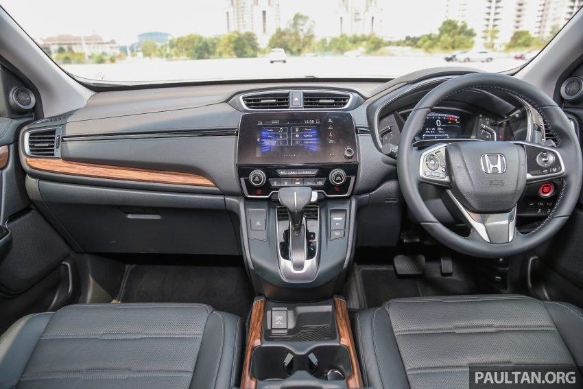 五代 Honda CR-V 本地正式发布,分成4个等级、自然进气与涡轮引擎,统一五人座,售价介于RM142K至RM168K。 Image #34887
