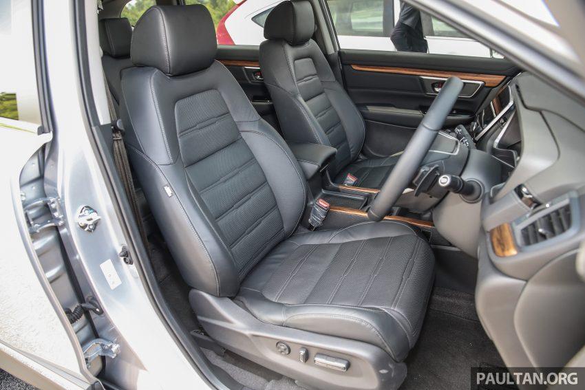 五代 Honda CR-V 本地正式发布,分成4个等级、自然进气与涡轮引擎,统一五人座,售价介于RM142K至RM168K。 Image #34909
