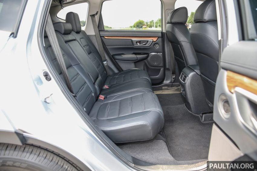 五代 Honda CR-V 本地正式发布,分成4个等级、自然进气与涡轮引擎,统一五人座,售价介于RM142K至RM168K。 Image #34912