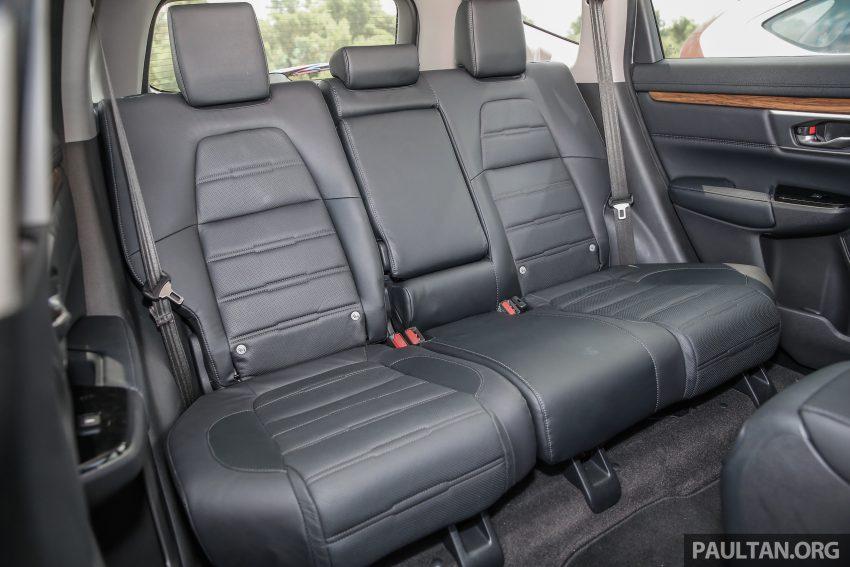 五代 Honda CR-V 本地正式发布,分成4个等级、自然进气与涡轮引擎,统一五人座,售价介于RM142K至RM168K。 Image #34913