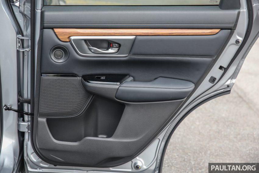 五代 Honda CR-V 本地正式发布,分成4个等级、自然进气与涡轮引擎,统一五人座,售价介于RM142K至RM168K。 Image #34915