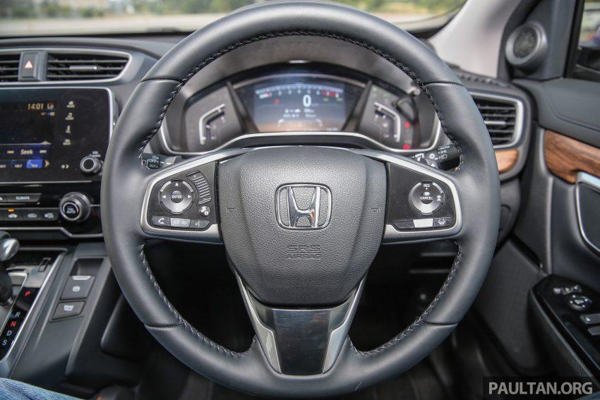 五代 Honda CR-V 本地正式发布,分成4个等级、自然进气与涡轮引擎,统一五人座,售价介于RM142K至RM168K。 Image #34888