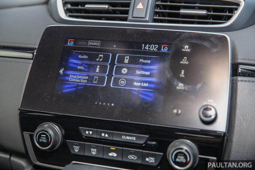 五代 Honda CR-V 本地正式发布,分成4个等级、自然进气与涡轮引擎,统一五人座,售价介于RM142K至RM168K。 Image #34892