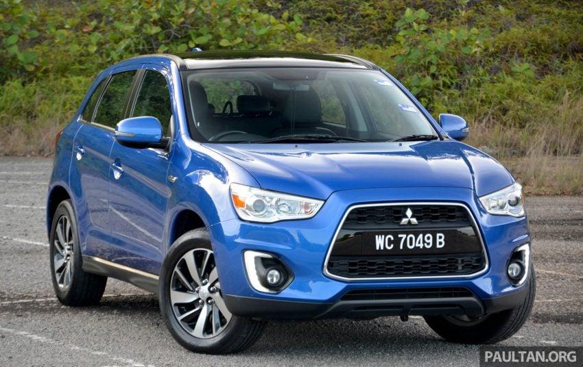 试驾: Mitsubishi ASX,车型久远但性价比依然值得考虑。 Image #35162