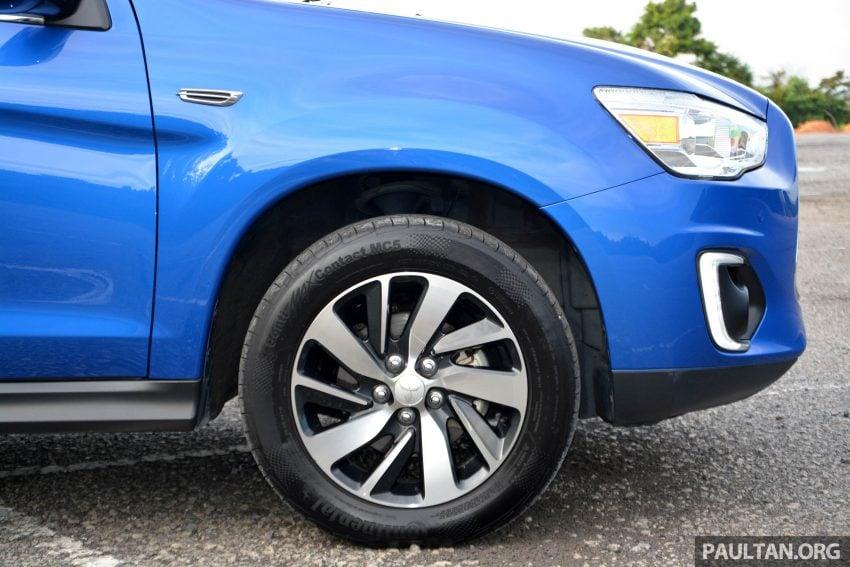 试驾: Mitsubishi ASX,车型久远但性价比依然值得考虑。 Image #35172