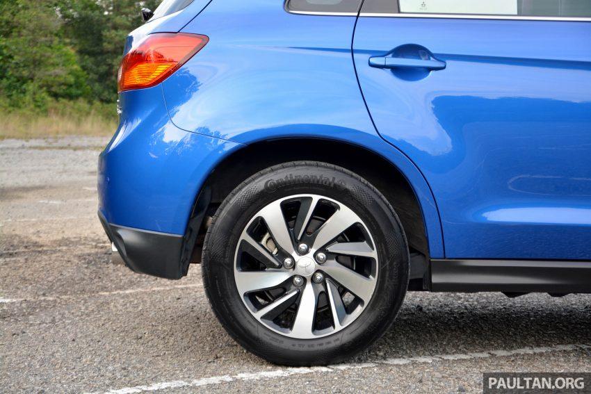 试驾: Mitsubishi ASX,车型久远但性价比依然值得考虑。 Image #35173