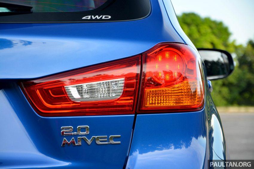试驾: Mitsubishi ASX,车型久远但性价比依然值得考虑。 Image #35175