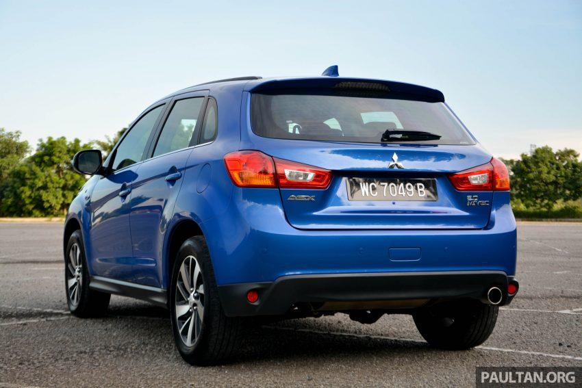 试驾: Mitsubishi ASX,车型久远但性价比依然值得考虑。 Image #35179