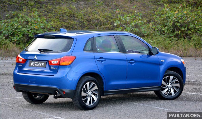 试驾: Mitsubishi ASX,车型久远但性价比依然值得考虑。 Image #35182