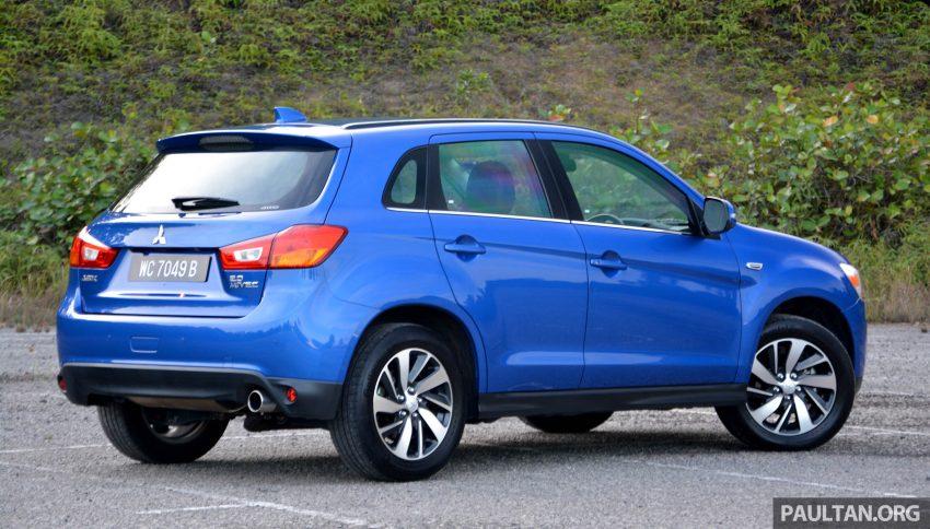 试驾: Mitsubishi ASX,车型久远但性价比依然值得考虑。 Image #35183