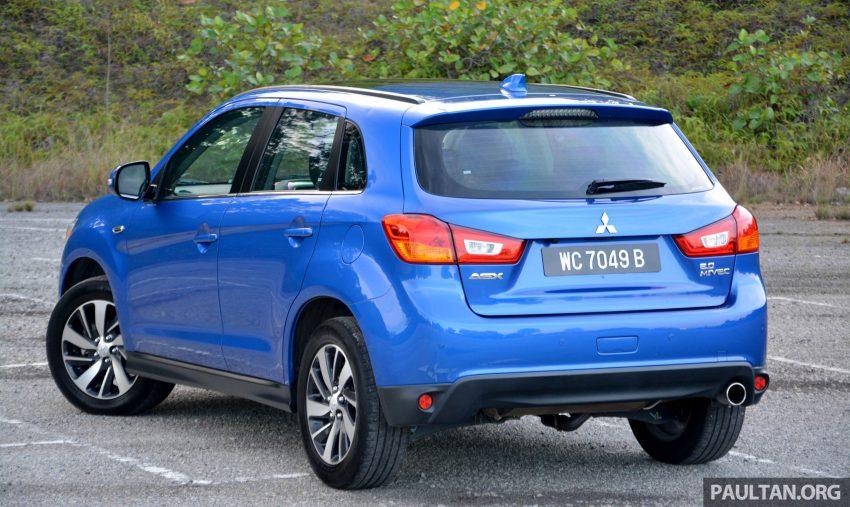 试驾: Mitsubishi ASX,车型久远但性价比依然值得考虑。 Image #35186