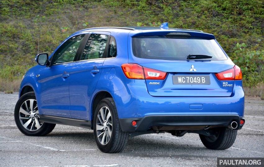 试驾: Mitsubishi ASX,车型久远但性价比依然值得考虑。 Image #35187