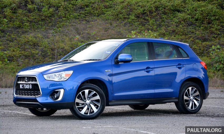 试驾: Mitsubishi ASX,车型久远但性价比依然值得考虑。 Image #35189