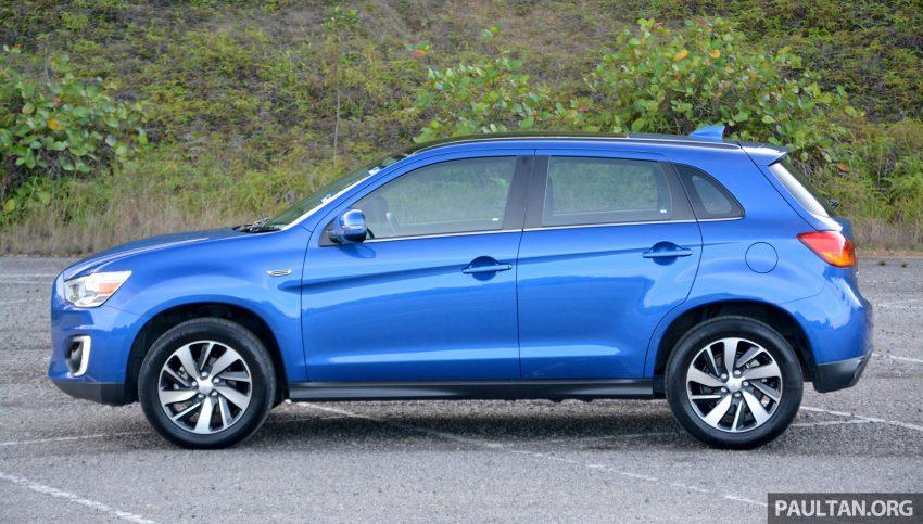 试驾: Mitsubishi ASX,车型久远但性价比依然值得考虑。 Image #35192