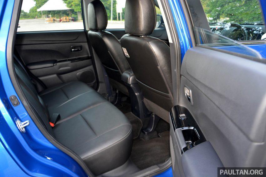 试驾: Mitsubishi ASX,车型久远但性价比依然值得考虑。 Image #35198