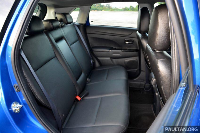 试驾: Mitsubishi ASX,车型久远但性价比依然值得考虑。 Image #35199