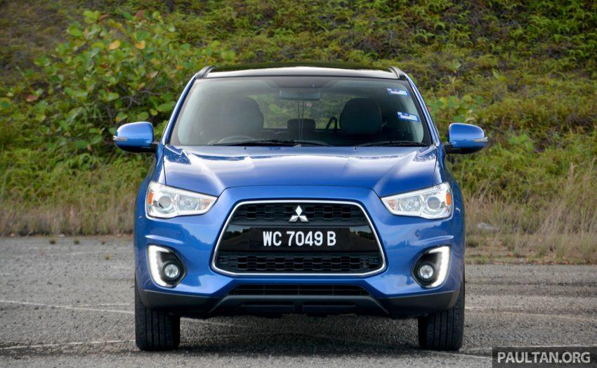 试驾: Mitsubishi ASX,车型久远但性价比依然值得考虑。 Image #35165