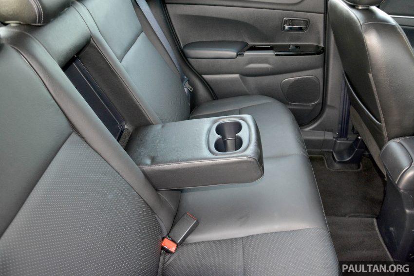 试驾: Mitsubishi ASX,车型久远但性价比依然值得考虑。 Image #35202