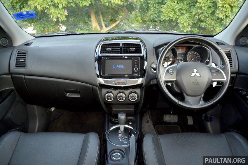 试驾: Mitsubishi ASX,车型久远但性价比依然值得考虑。 Image #35205