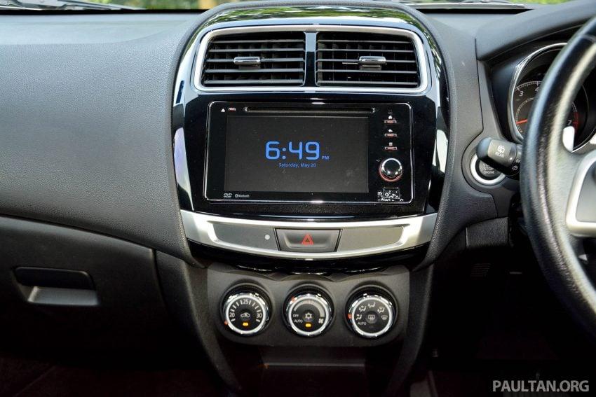 试驾: Mitsubishi ASX,车型久远但性价比依然值得考虑。 Image #35206