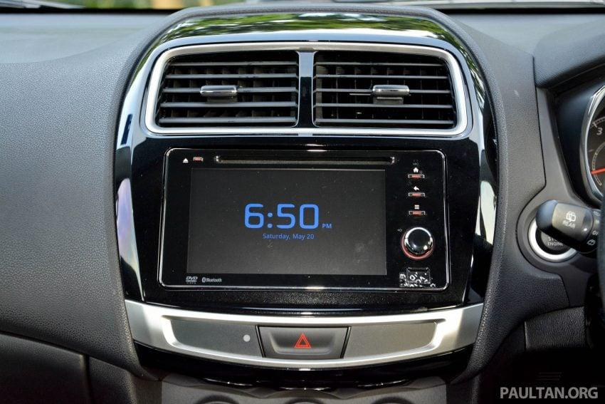 试驾: Mitsubishi ASX,车型久远但性价比依然值得考虑。 Image #35207