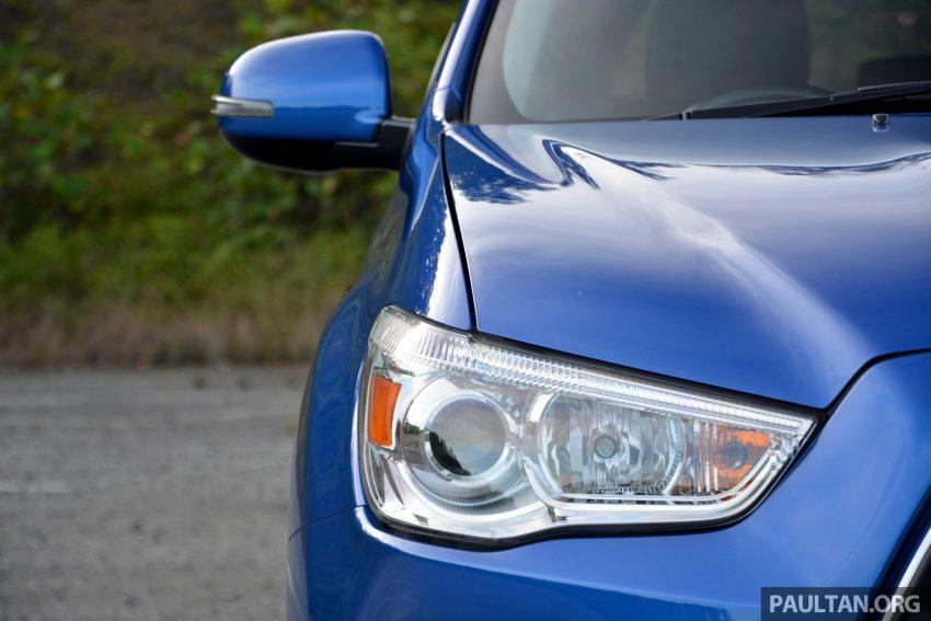 试驾: Mitsubishi ASX,车型久远但性价比依然值得考虑。 Image #35166