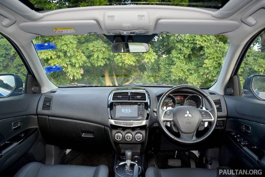 试驾: Mitsubishi ASX,车型久远但性价比依然值得考虑。 Image #35214