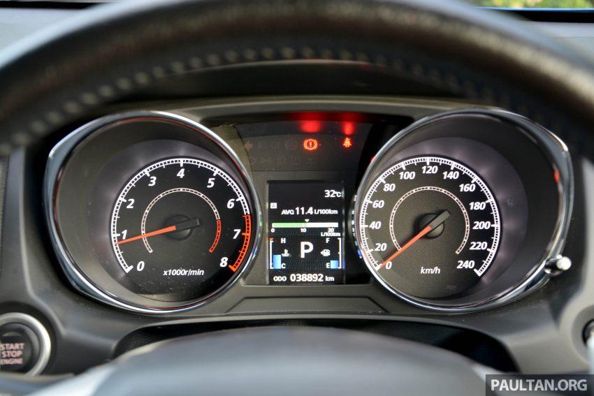 试驾: Mitsubishi ASX,车型久远但性价比依然值得考虑。 Image #35216