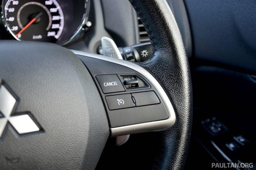 试驾: Mitsubishi ASX,车型久远但性价比依然值得考虑。 Image #35218